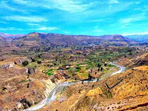 La Vallée du Colca près d'Arequipa